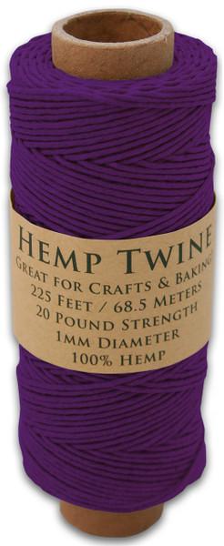Purple Hemp Twine Spool