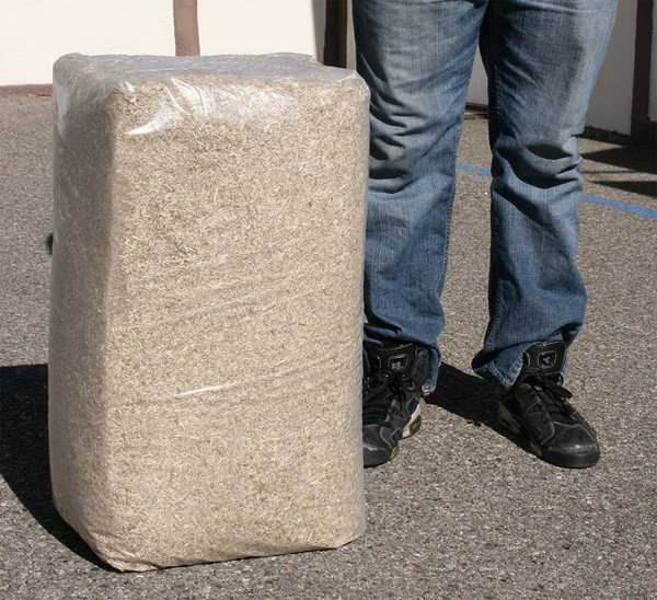 Hemp Hurd Bale sized