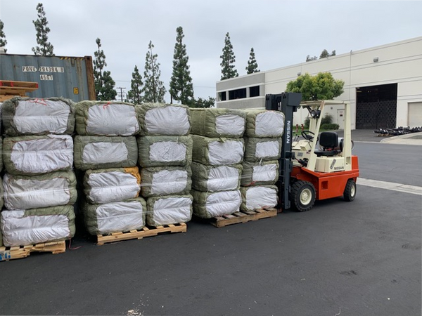 Hemp Hurd Pallets