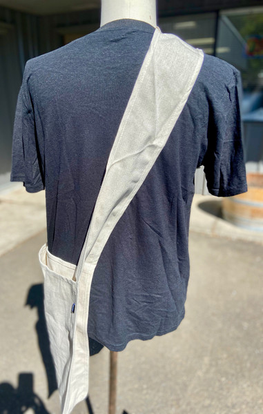 Stroller Hemp bag back angle