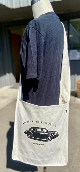 Stroller Hemp bag beetle logo
