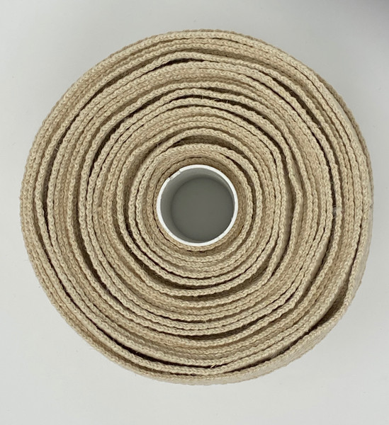 "1"" Hemp webbing Made in the USA Top View"
