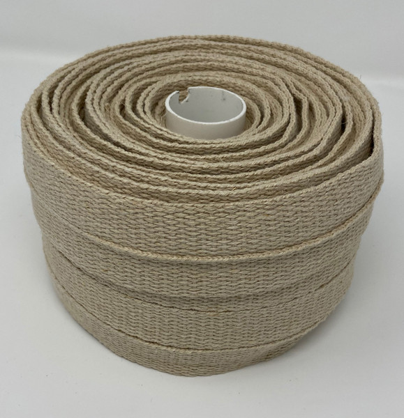 "1"" Hemp webbing Made in the USA Different angle"