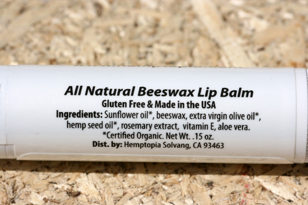 hemp lip balm ingredients