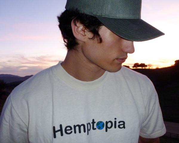 person wearing hemp cap