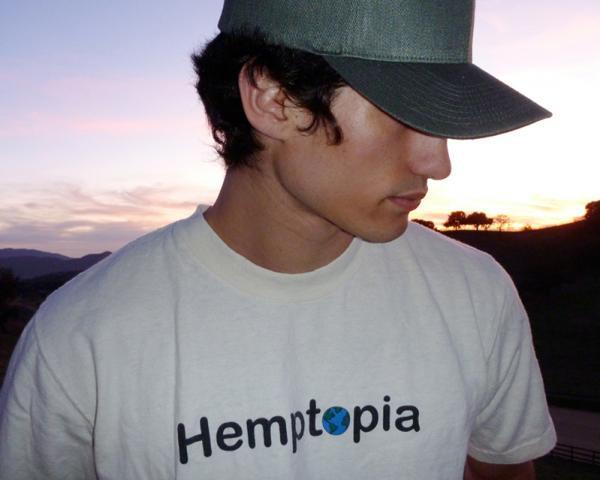 person wearing hemp cap