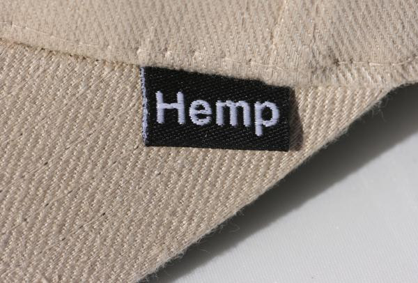 Hemp Hat Tag