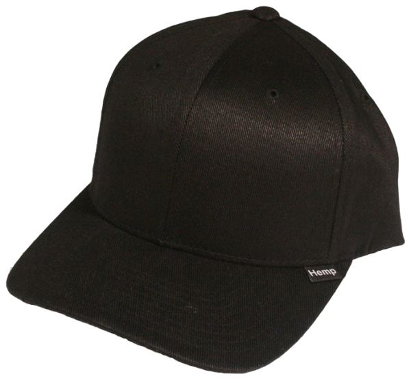 Black Hemp Hat