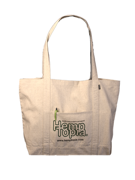 Reusable Hemp Bag - The Grocer w/logo - Tote