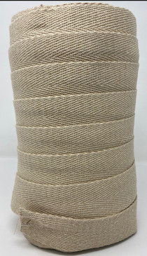 "2"" hemp webbing Made in USA"