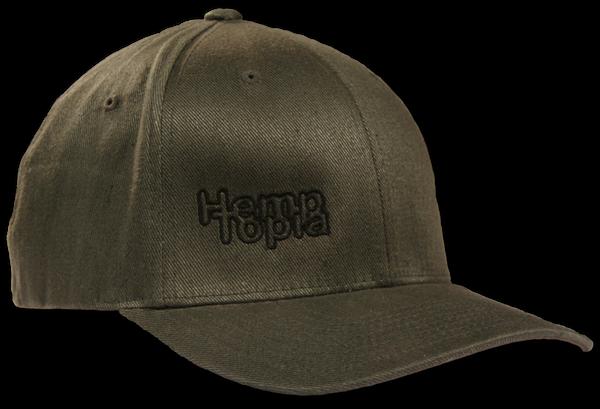 Hemptopia Hemp Cap w/logo - Green
