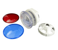 11335 Light Kit W/ Red & Blue Lens,  3.5in, No Wiring/Bulb