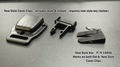 12815 NEW STYLE CLIPS COVER,  SET,  1 MALE / 1 FEMALE