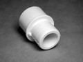 10894 FITTINGS PVC,  Barbed Adapter,  WATERW,  1inRB x 3/4in S/1in Spg