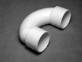 10041 FITTINGS PVC, U-Bend,  WATERW,  2in S x 2inS
