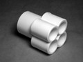 10722 Manifold PVC, Water,  WATERW, 1.5inS x (4) 1/2inS Ports
