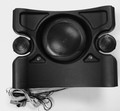 12473 STEREO,  SPEAKER,  POWERED 3-WAY,  COMPLETE ENCLOSURE