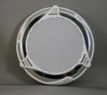 14642 STEREO,  SPEAKER COVER,  2011,  CUSTOM,  SS,  WHITE,  6 in SPEAKER