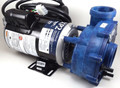 15563 PUMP, GECKO, 2018, 6HP-SPL-230V-48FR-2SPD, BLUE W/E, 8FT 4 PIN AMP, UNIONS