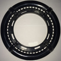 12934 FILTER PART,  DYNA-FLO LOW PROFILE,  4 SCALLOP TRIM RIng,  BLACK