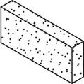 10454 Filter Weir Door Foam,  WATERW, Front Access Skim Filters