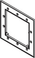 10612 Filter Front Access MOUNTING Plate,  WATERW, Front Access Skim