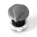 11408 AIR CONTROL,  1 in,  ONE-PIECE TRUE SEAL,  GRAY
