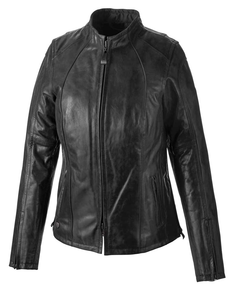 Women's Tenacity Genuine Leather Riding Jacket