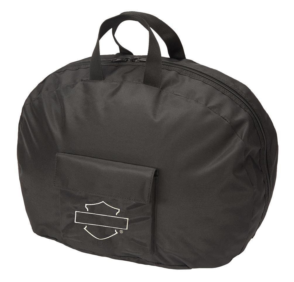 Harley-Davidson® Bar & Shield Half Helmet Carry Bag - Black 99427-MIDNIGHT