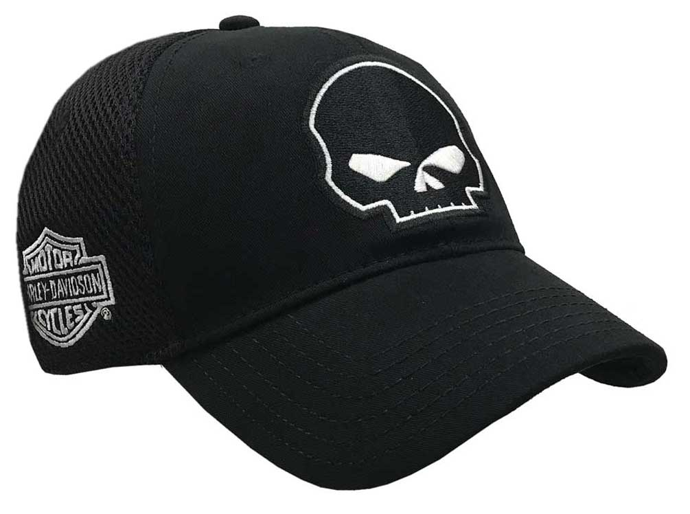 Willie G Skull Black Baseball Cap