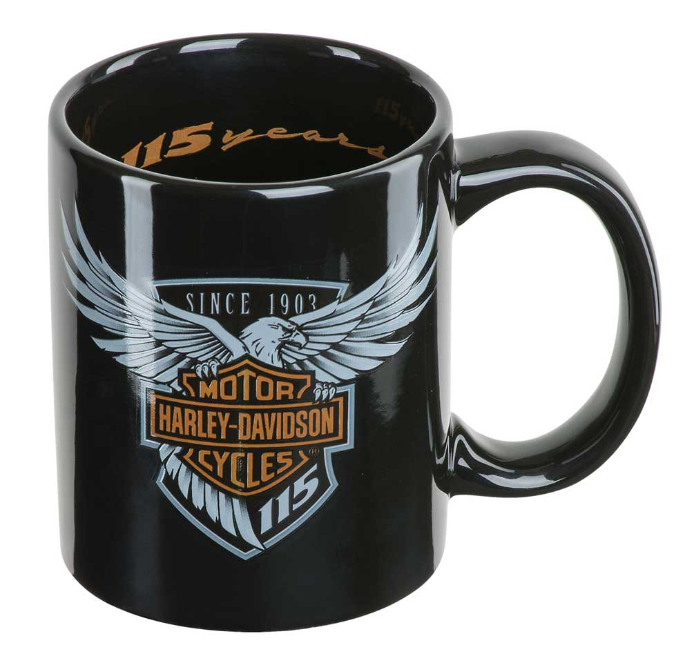 Harley-Davidson 115th Anniversary Limited Edition Coffee Mug