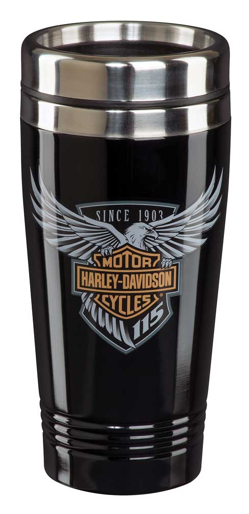 Harley-Davidson 115th Anniversary Limited Edition Travel Mug