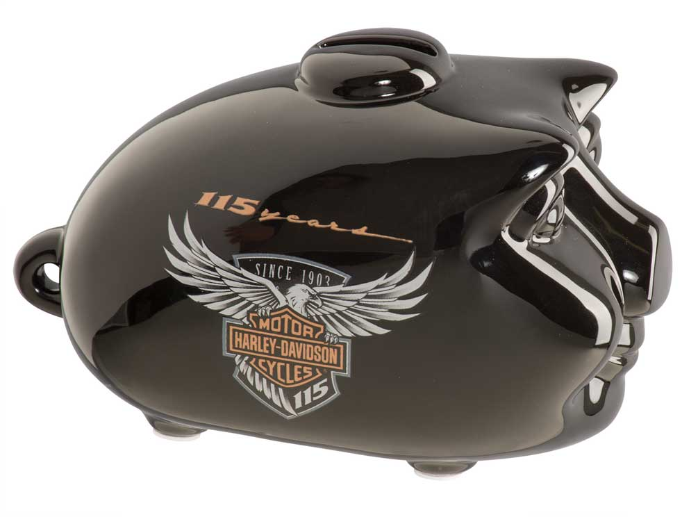 Harley-Davidson 115th Anniversary Limited Edition Mini Hog Bank