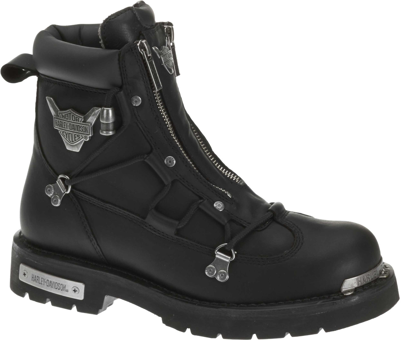 d64429f5151 Harley-Davidson® Men's Brake Light Black 6.25-Inch Motorcycle Boots D91680