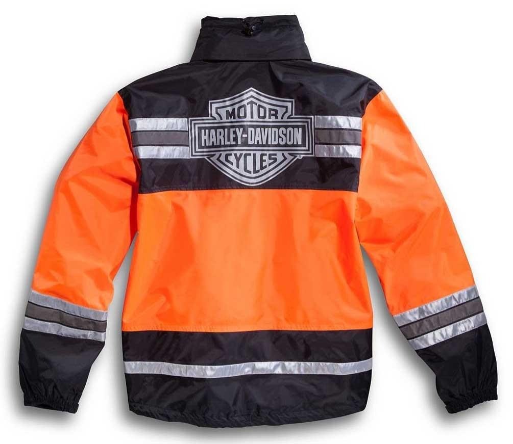 outlet for sale factory outlets highly praised Harley-Davidson® Men's Hi-Vis Orange Rain Suit 98275-08VM