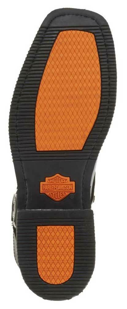 dbeb9e7c74e Harley-Davidson® Men's El Paso Harness 7-Inch Motorcycle Boots, Side Zip  D94422