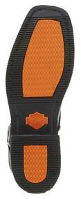 Harley-Davidson Men's El Paso Harness 7-Inch Motorcycle Boots, Side Zip D94422 - Wisconsin Harley-Davidson