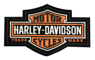 Harley-Davidson Long bar & Shield Medium Patch, 7-1/4'' W x 4-3/8'' H EMB312383 - Wisconsin Harley-Davidson