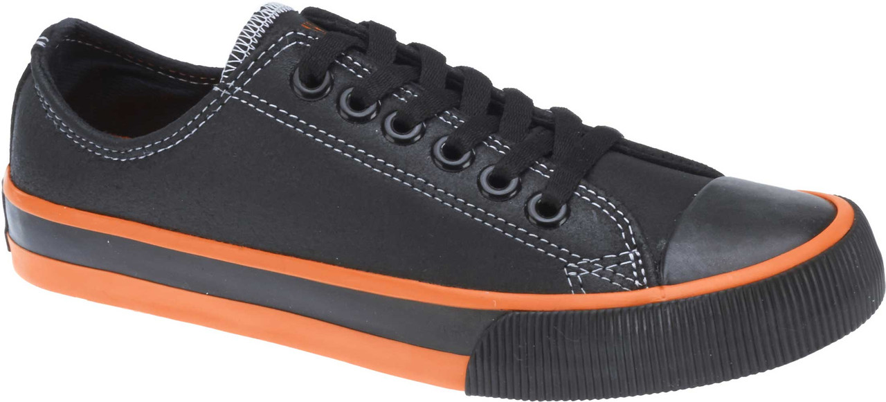 120200e983ab Harley-Davidson Men s Roarke 2-Inch Black Leather Low-Cut Sneakers D93811  -. See 3 more pictures