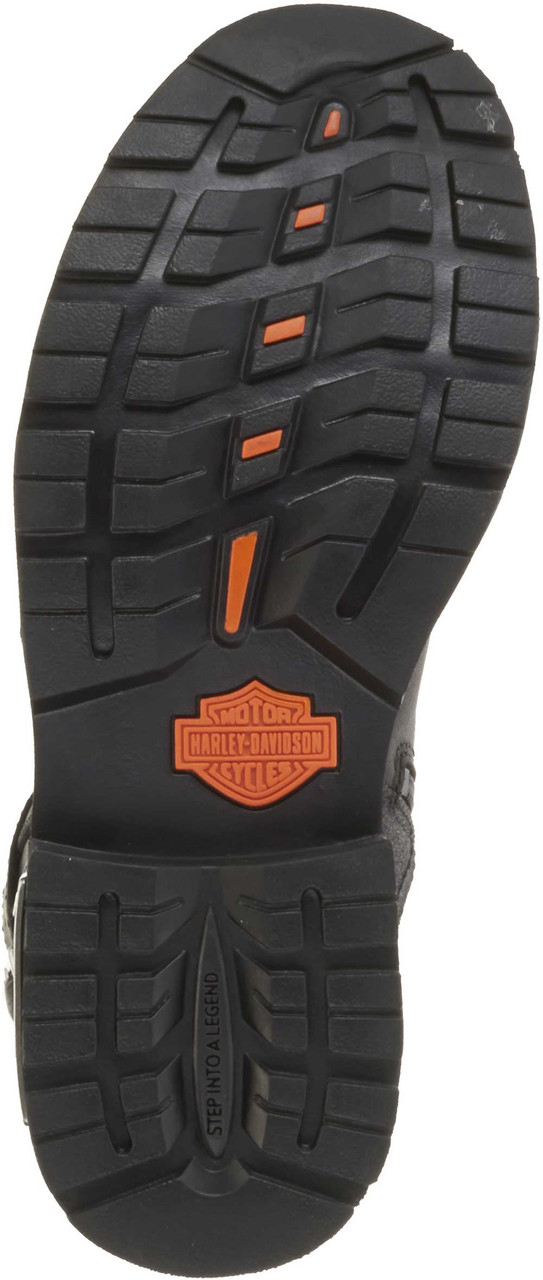 2a2159b7ca1158 Harley-Davidson Men s Manifold 7-Inch Black Leather Motorcycle Boots D91692  - Largest Selection. See 3 more pictures