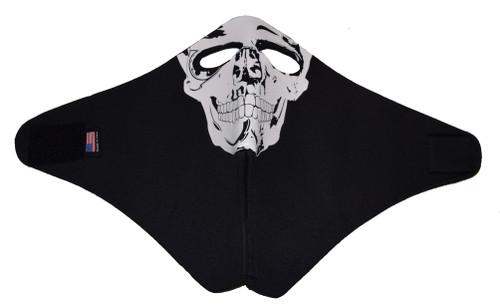 Full Face Riding Mask Black Neoprene Motorcycle & ATV Cold Weather Mask 501S - Wisconsin Harley-Davidson