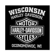 Harley-Davidson Men's Willie G Skull Muscle Tank Top, Black T-Shirt 30296644 - Wisconsin Harley-Davidson