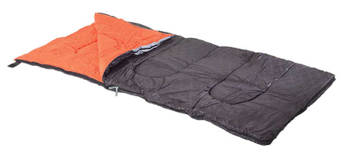 Harley-Davidson Bar & Shield Custom Sleeping Bag, Black & Orange HDL-10016 - Wisconsin Harley-Davidson