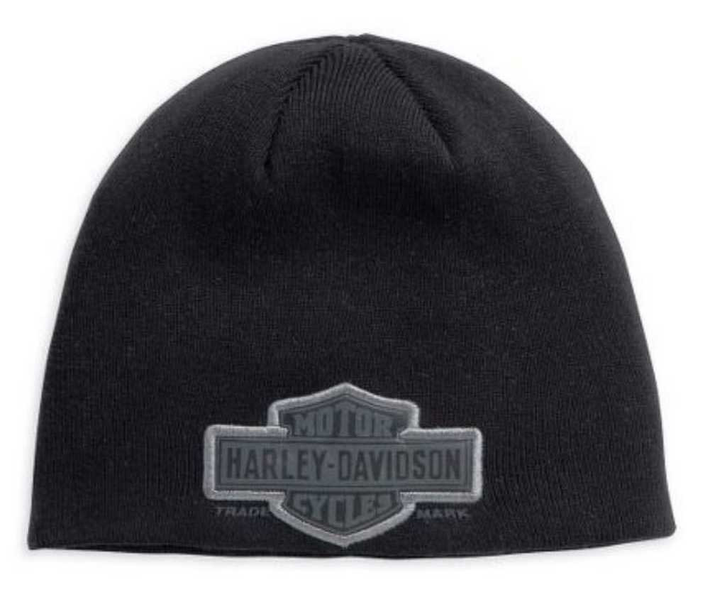 Harley-Davidson Men s Trademark Bar   Shield Knit Hat 99511-11VM - Wisconsin  Harley 023c06b18eaa