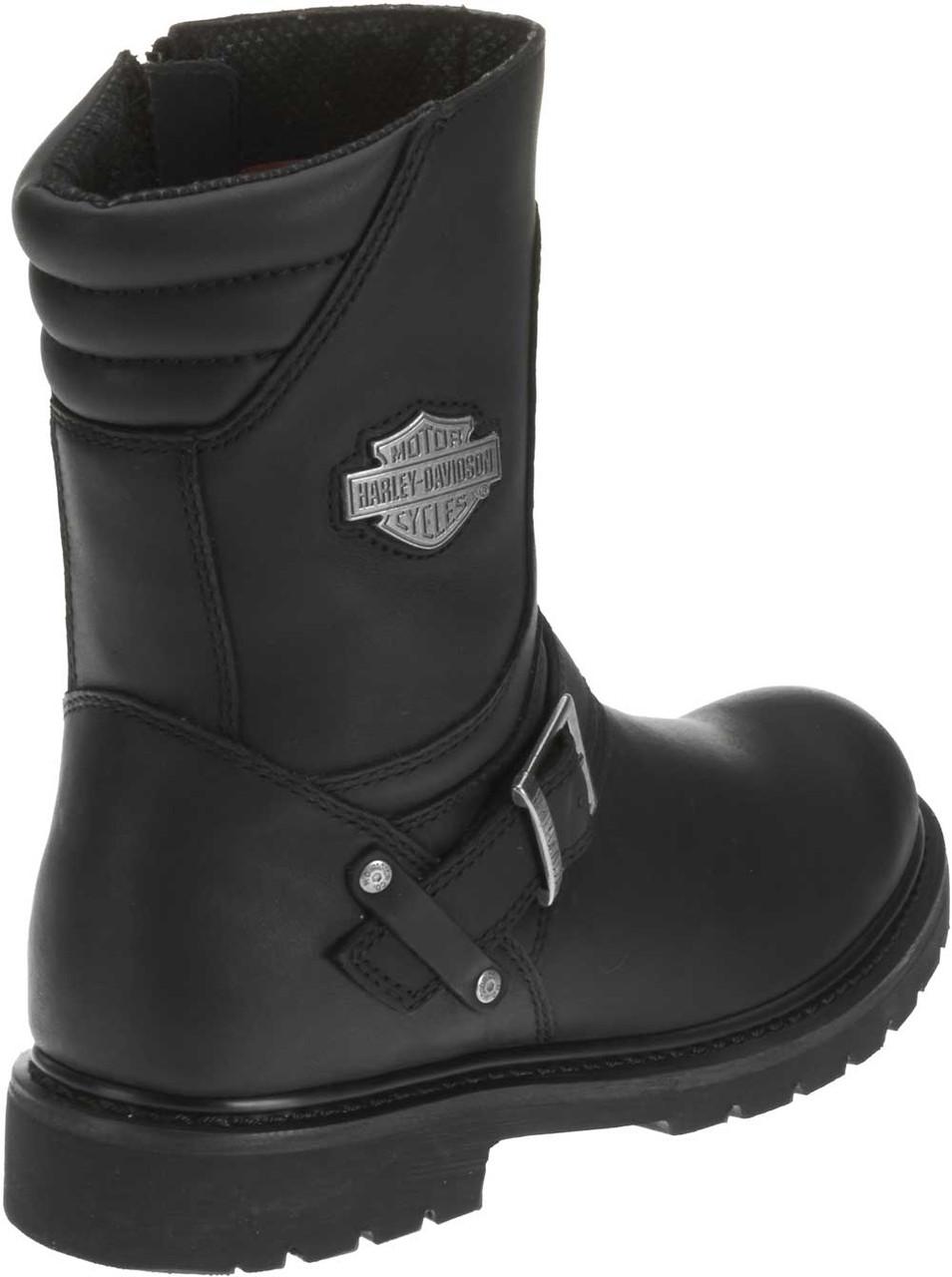 ec552dddc3d Harley-Davidson® Men's Booker Front Strap 8.25-Inch Motorcycle Boots D95194