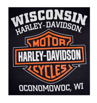 Harley-Davidson Men's Bar & Shield Logo Muscle Shirt Tank Top, Black 30296623 - Wisconsin Harley-Davidson