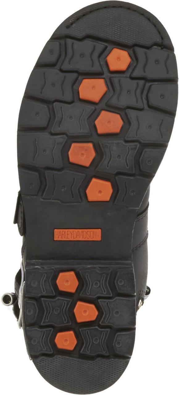 Harley Davidson Men S Axel 10 Inch Black Motorcycle Boots D96035