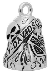 Harley-Davidson 'Class Of It's Own' Skull/Bar & Shield Ride Bell HRB044 - Wisconsin Harley-Davidson