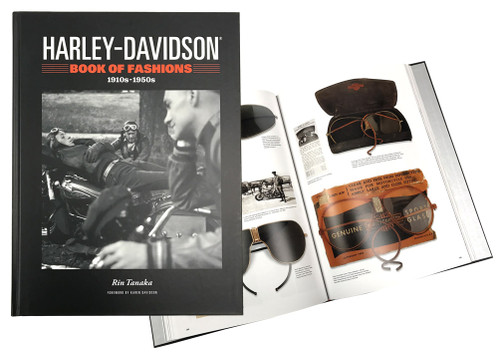 Harley-Davidson Book of Fashions, Vintage Motorcycle Apparel 1910-1950 HDBK-BOF - Wisconsin Harley-Davidson