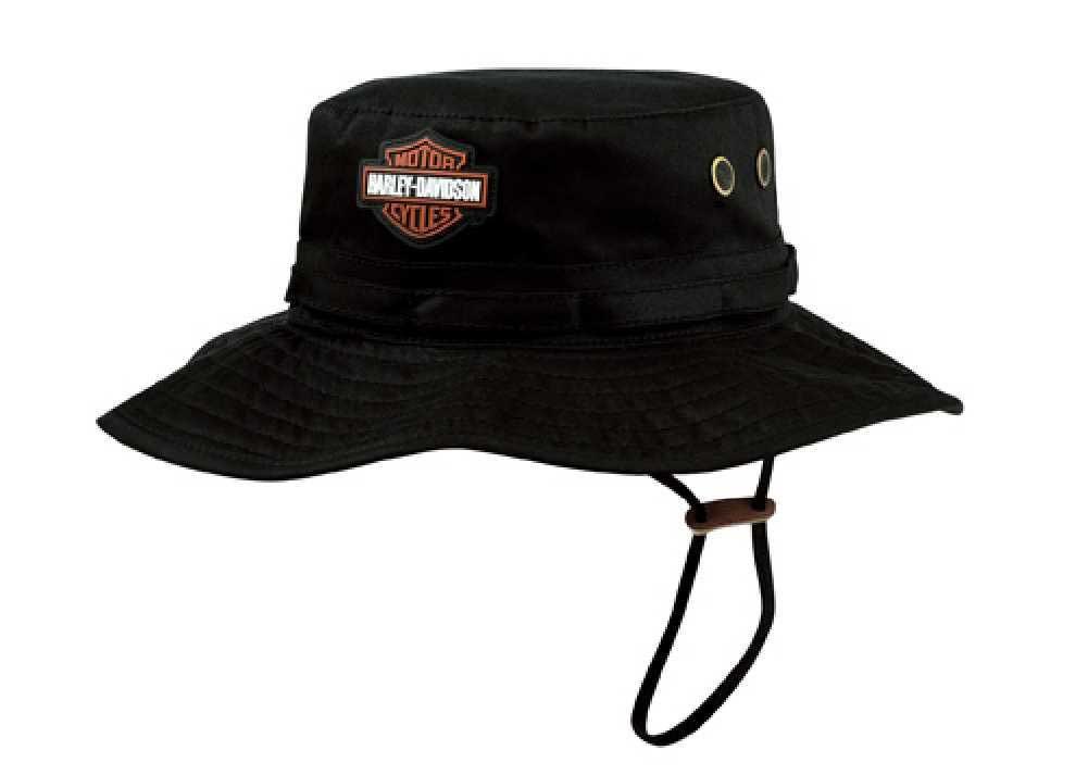 Harley-Davidson Mens Cotton Twill Bucket Hat HD-409 - Wisconsin Harley- Davidson 29dbc5f4994